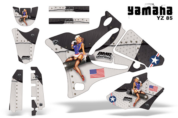 amr graphics yamaha yz85 yz 85 mx sticker deco mx kit t ebay