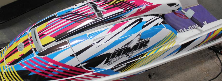 AMR Racing Jet Ski Graphics