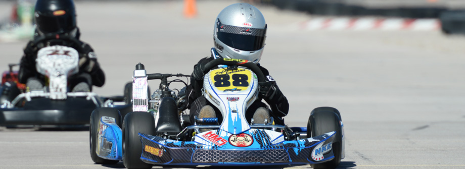 Enhance your go kart with AMR Racing graphics