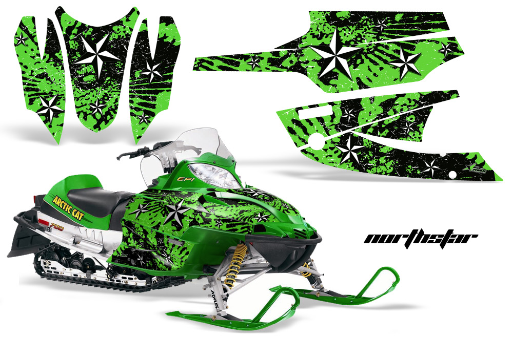 Snowmobile Arctic Cat Decals