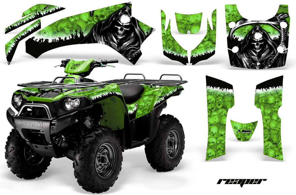 Kawasaki Brute Force 750i Quad Graphic Kit 2005 2011