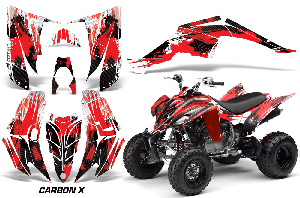 yamaha raptor 350 quad graphic sticker decal kit for. Black Bedroom Furniture Sets. Home Design Ideas