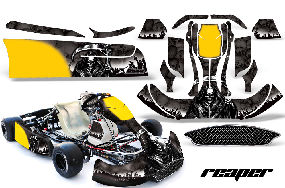 Crg Na2 New Age Body Kart Graphic Decal Kit Free Bumber Graphic Included