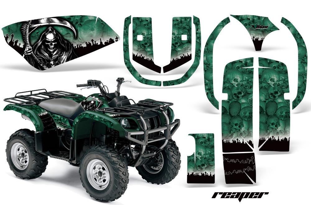 Yamaha Grizzly 660 >> Yamaha Grizzly 660 ATV Quad Graphic Kit