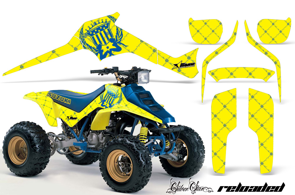 S L together with  additionally Large Suzuki Lt R Graphic Kit Reloaded Yb further Hqdefault likewise S L. on 1985 suzuki lt250 atv