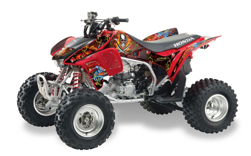 Ed Hardy Quad Graphic Kit Honda