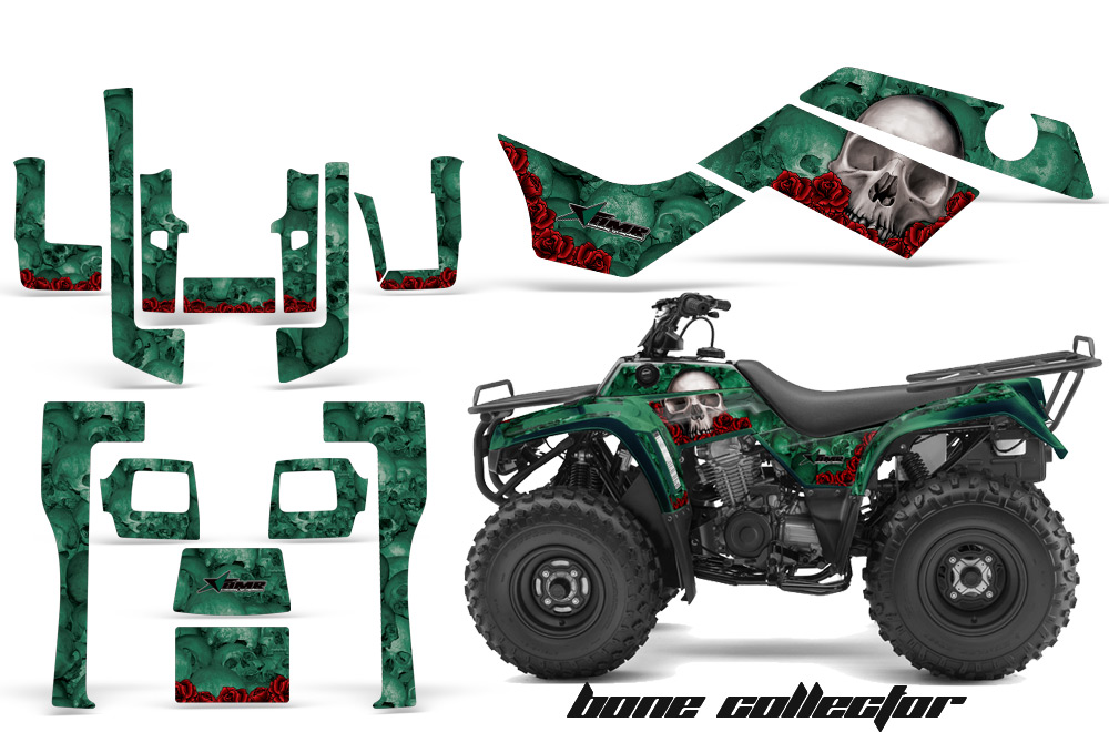 Kawsaski Bayou 250 Quad ATV Graphics sticker decal Kit – Kawasaki Bayou 220 Wiring