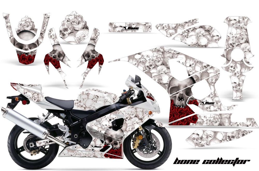 2004 2005 suzuki gsx r600 r750 street bike graphic decal sticker kit 04 05