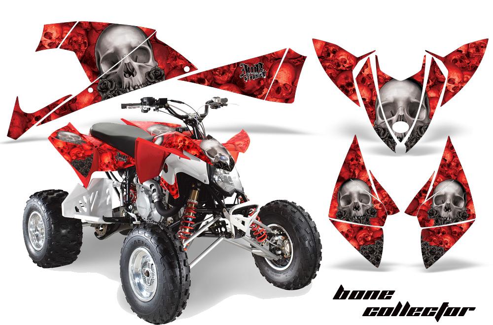 Polaris Scrambler 500 >> Polaris Outlaw 450/500/525 Quad Graphic Kit 2009-2012