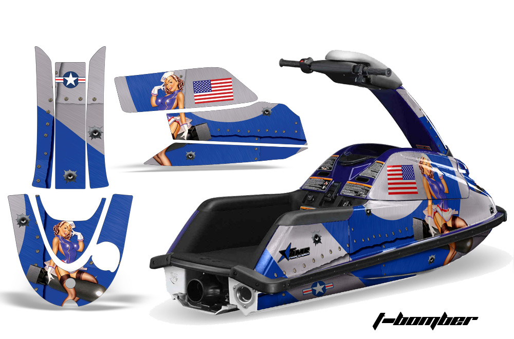 yamaha superjet jet ski graphic wrap decal kit