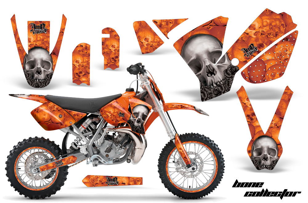 Ktm Motocross Graphic Decal Sticker Kit Ktm Mx Stickers