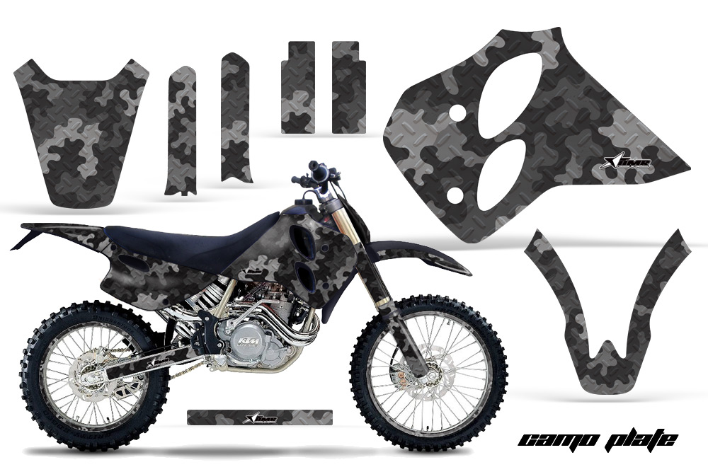1993-1997 ktm motocross graphic decal sticker kit