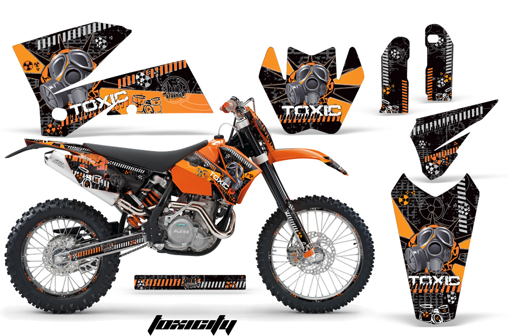 Ktm C4 Graphic Kit 2005 2006 Sx 2005 2007 Exc 165on Arctic Cat Atv Accessories
