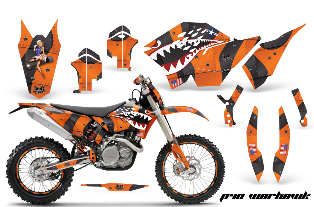 2007 2010 sx 2008 2010 exc ex ktm motocross graphic decal sticker kit 2 4 stroke