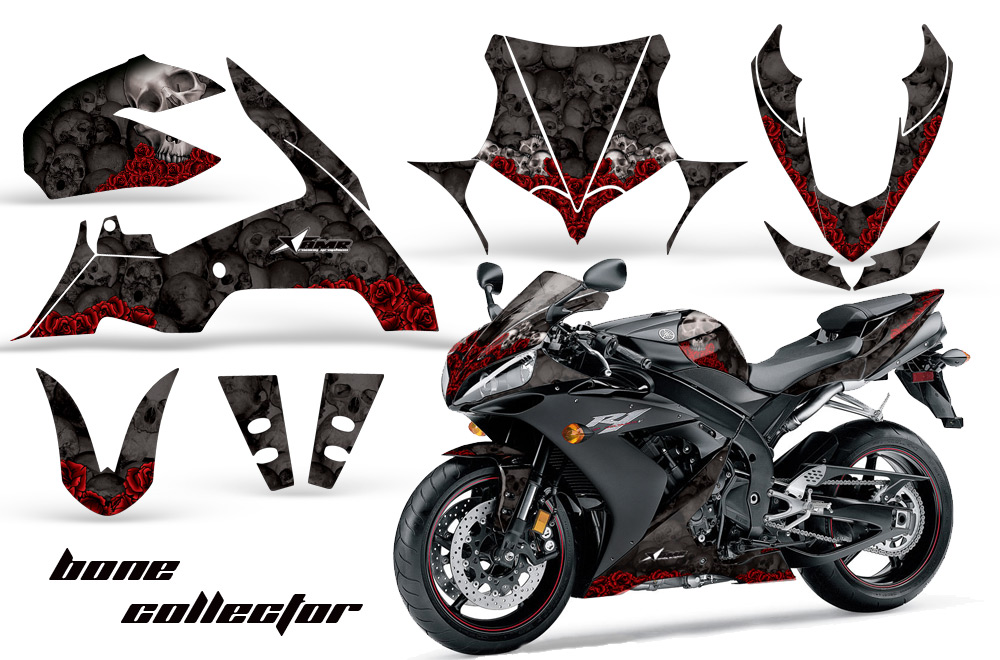2004 2005 yamaha r1 street bike graphic decal sticker kit 0405