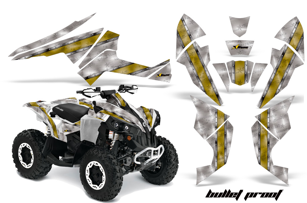 Can Am Renegade 500x R 800x R 1000 Atv Quad Graphic Kit
