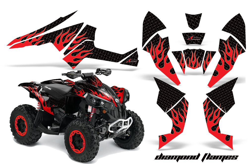 Can Am Renegade 800 >> Can-Am Renegade 500x/r 800x/r 1000 ATV Quad Graphic Kit
