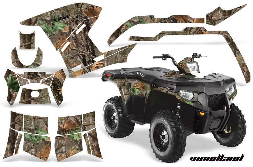 polaris atv quad graphic sticker kit for sportsman 500 800. Black Bedroom Furniture Sets. Home Design Ideas