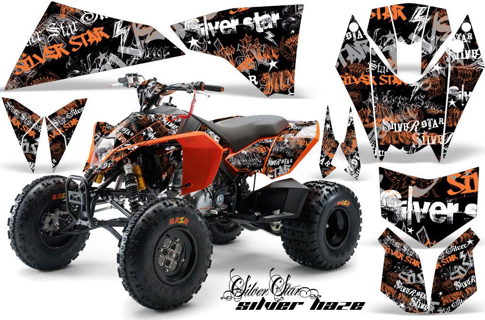 Ktm 450 505 525 Atv Quad Graphic Kit 2008 2010