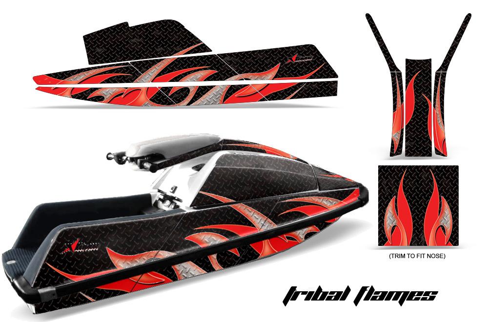 Yamaha Superjet Jet Ski Graphic Wrap Kit (Square Nose)