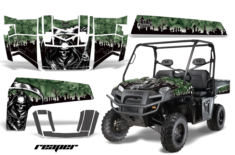 2009 Polaris Ranger XP atv sticker decal utv graphic kits