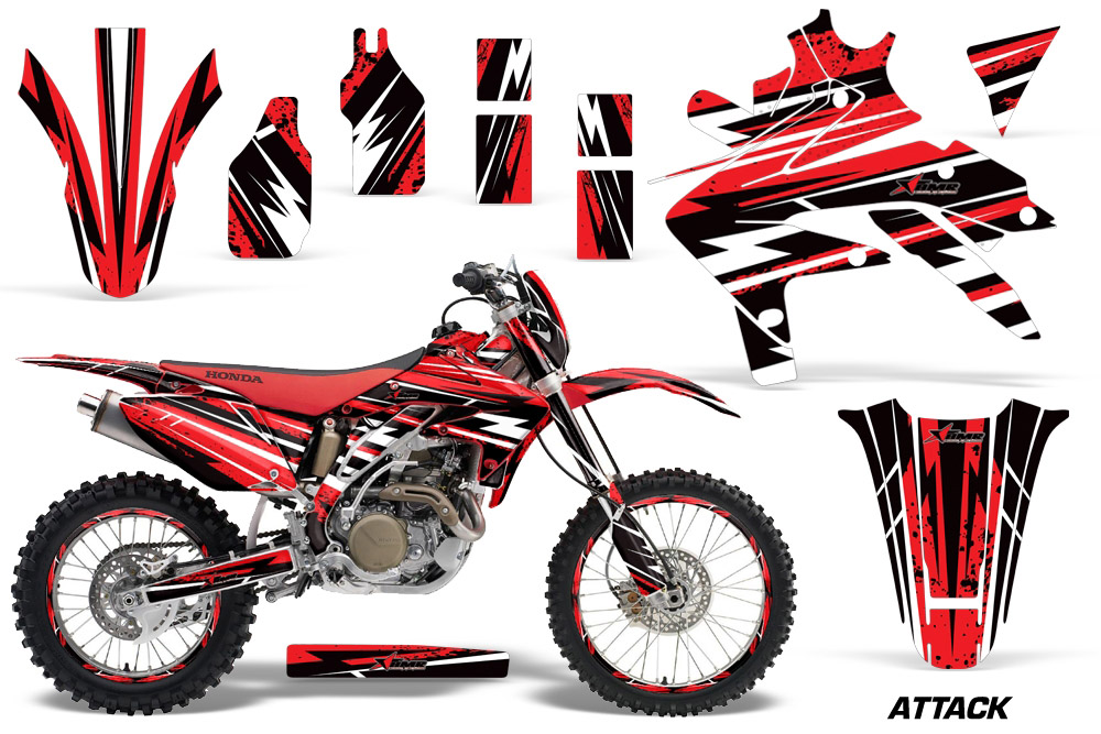 Honda Crf450x Graphic Stickers And Decals Honda Crf450