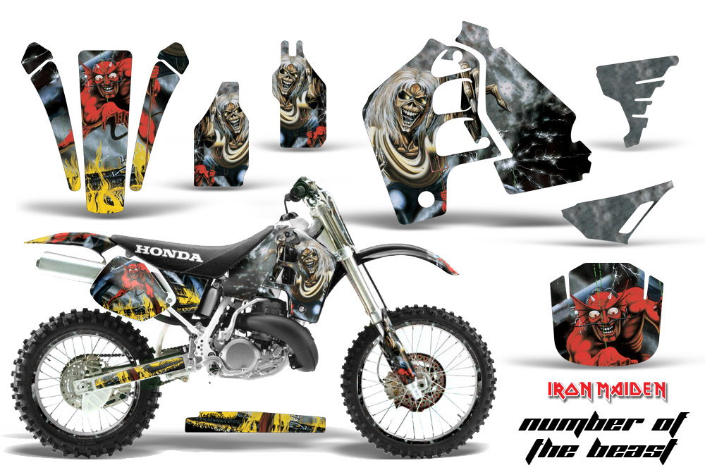 Honda Cr500 Graphic Kit Stickers And Decals Honda Cr500