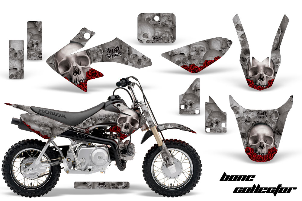honda crf50 motocross graphic kit 2004 2015 sku 1310