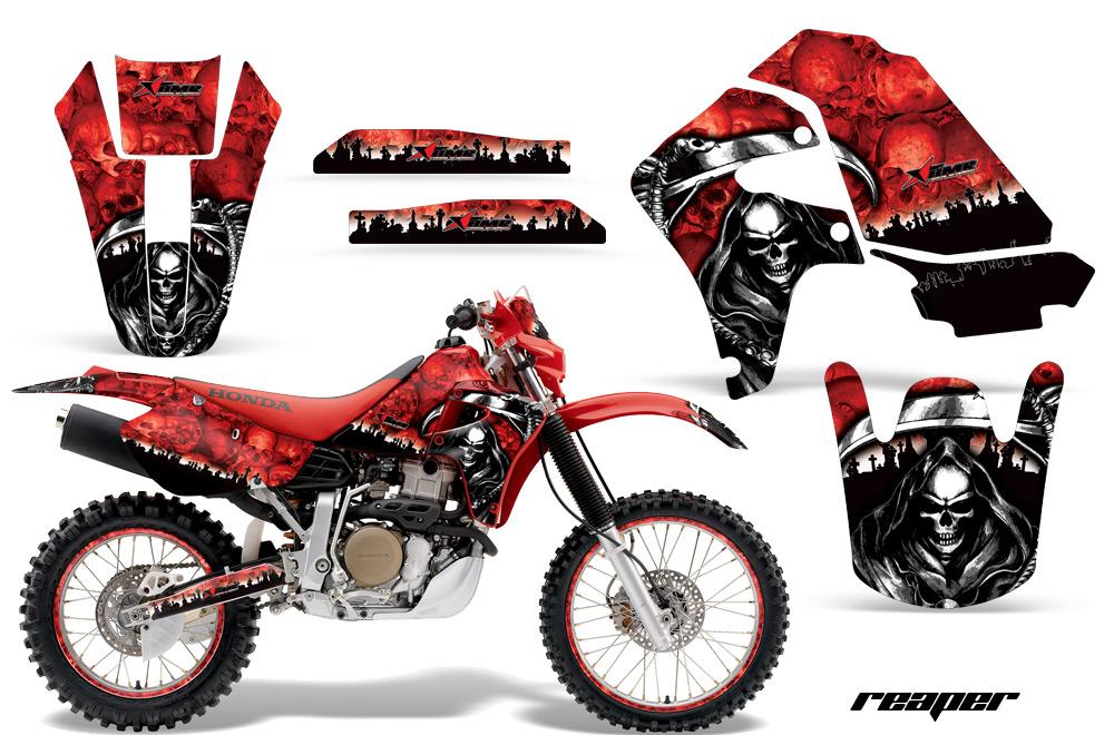 Honda Xr650r Motocross Graphic Kit 2000 2010 All Designs