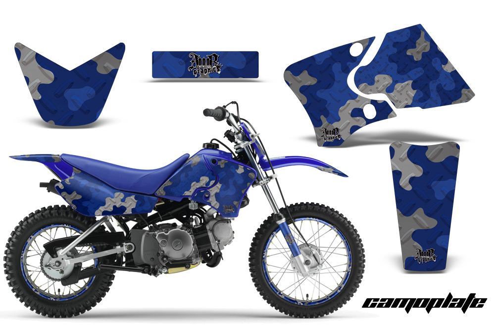 Yamaha Motocross Graphic Sticker Kit  Yamaha MX TTR50  TTR90