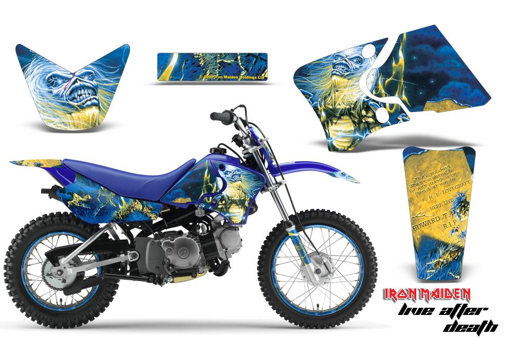 Yamaha Motocross Graphic Sticker Kit - Yamaha MX TTR50, TTR90