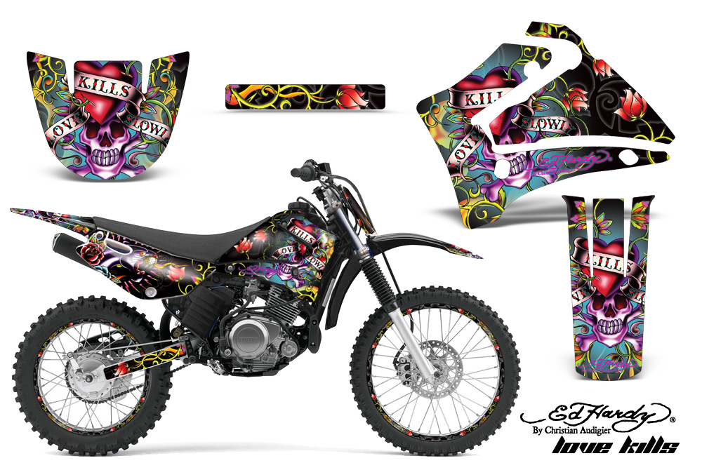 Yamaha Motocross Graphic Sticker Kit Yamaha MX TTR - Decal graphics for motorcyclesmotorcycle graphics motorcycle decal kits motorcycle decals