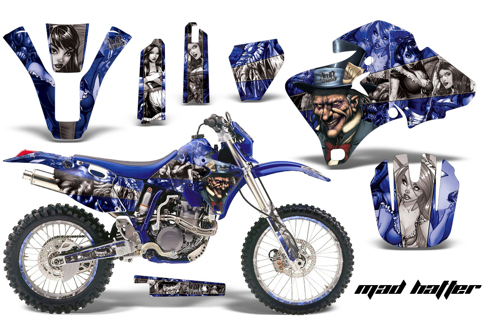 Yamaha Motocross Graphic Sticker Kit Yamaha Mx Wr250 Wr426 Wr400