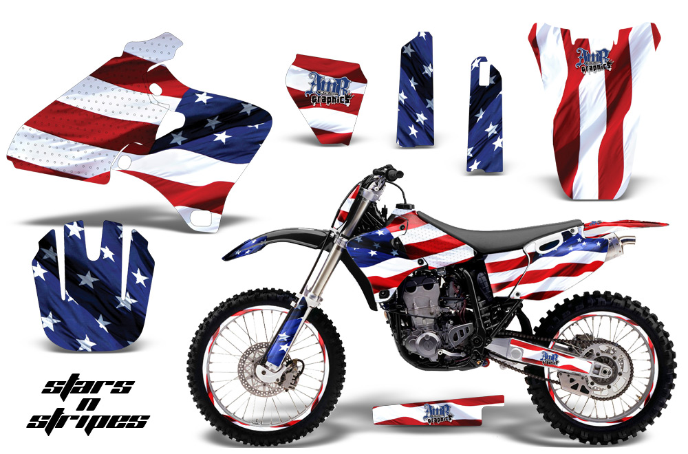 Yamaha Motocross Graphic Sticker Kit Yamaha Mx Yz250
