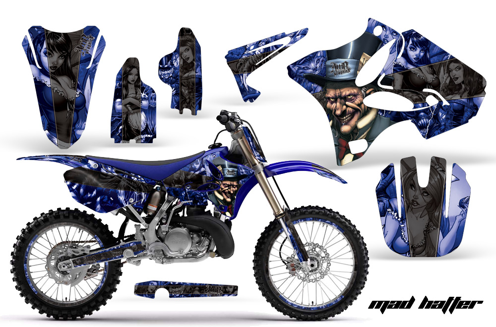 Yamaha Motocross Graphic Sticker Kit - Yamaha MX YZ250, YZ125
