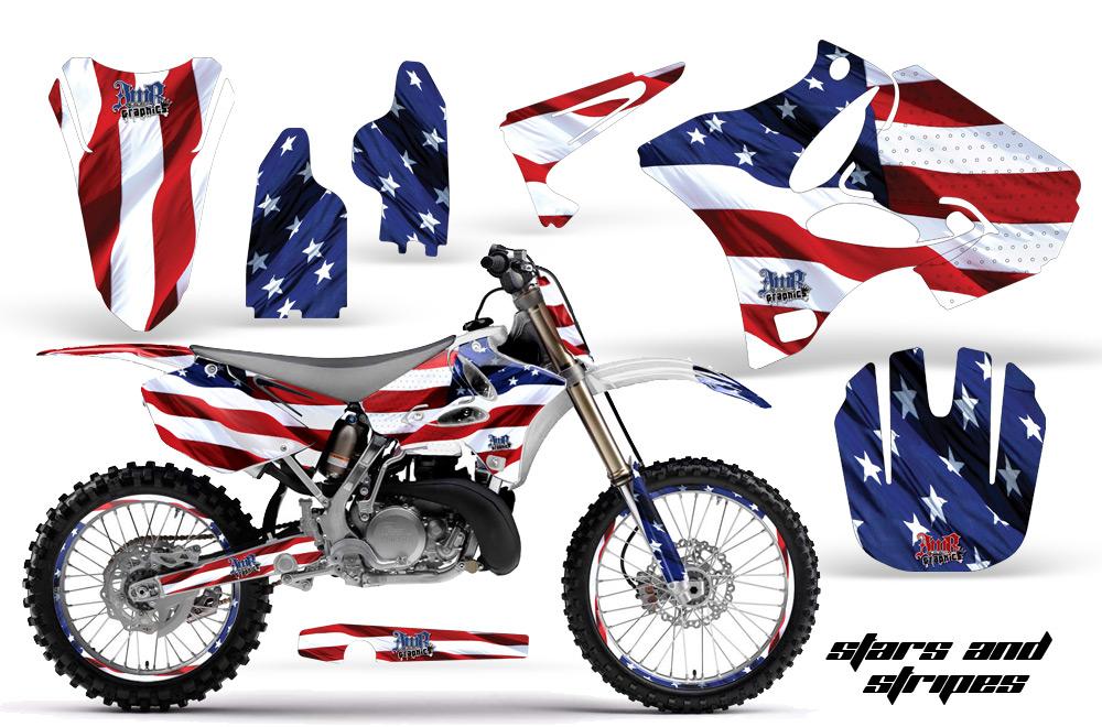 Yamaha Motocross Graphic Sticker Kit