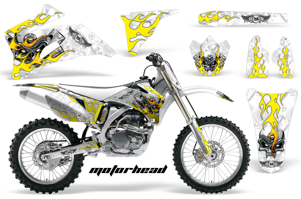 yamaha yz250f 450f 4 stroke motocross graphic kit 2006 2009 sku 1311 117999 1010 price 0 00 169 95. Black Bedroom Furniture Sets. Home Design Ideas