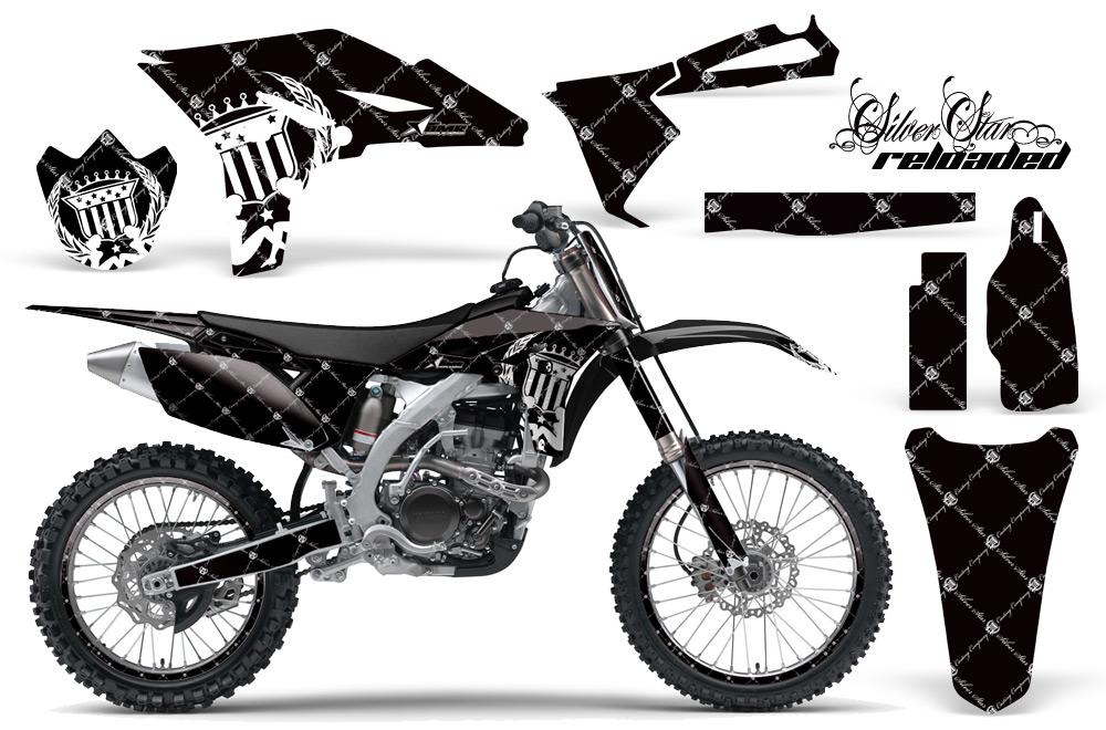 yamaha yz250f 4 stroke motocross graphic kit 2010 2013 sku