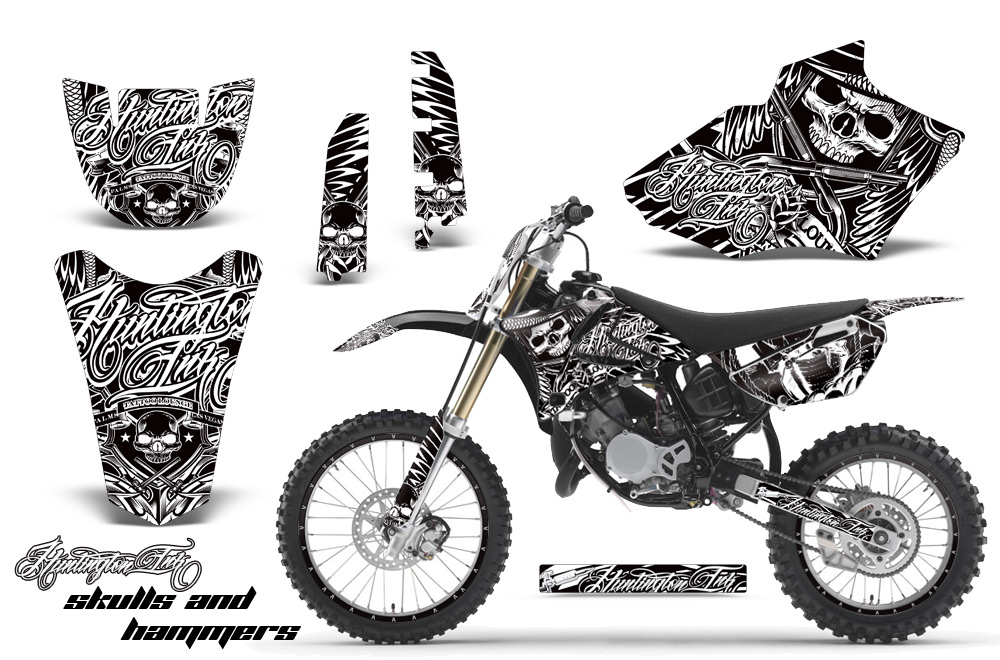 Yamaha Motocross Graphic Sticker Kit Yamaha Mx Yz85