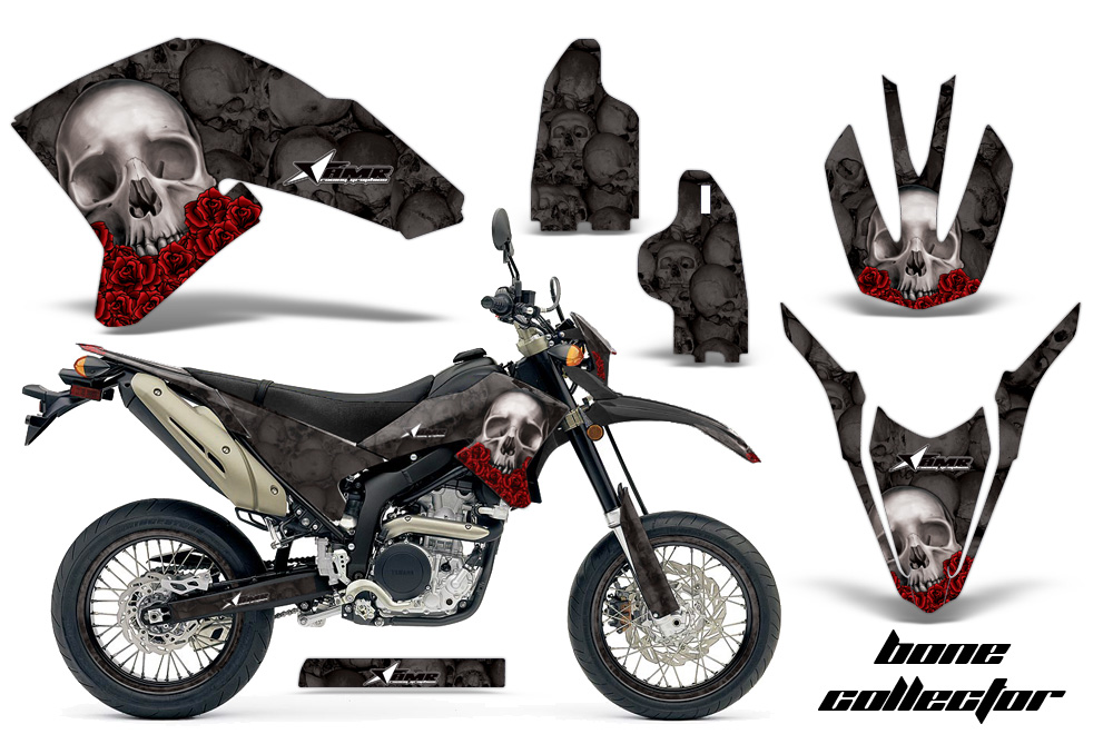 Yamaha Motocross Graphic Sticker Kit Yamaha Mx Wr250x Wr250r
