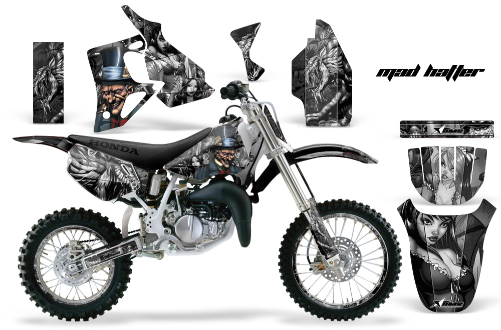 Honda Cr80 Motocross Graphic Kit 1996 2002 All Designs Available 251 on suzuki car accessories catalog
