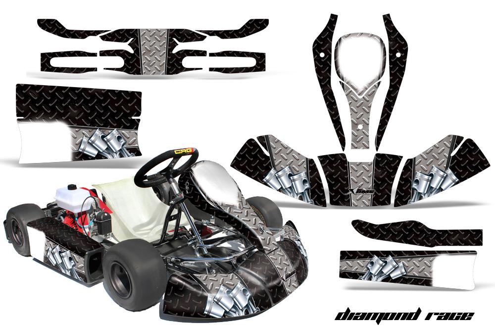 JR Cadet CRG Shifter Kart Graphics Sticker kit for new age bodywork