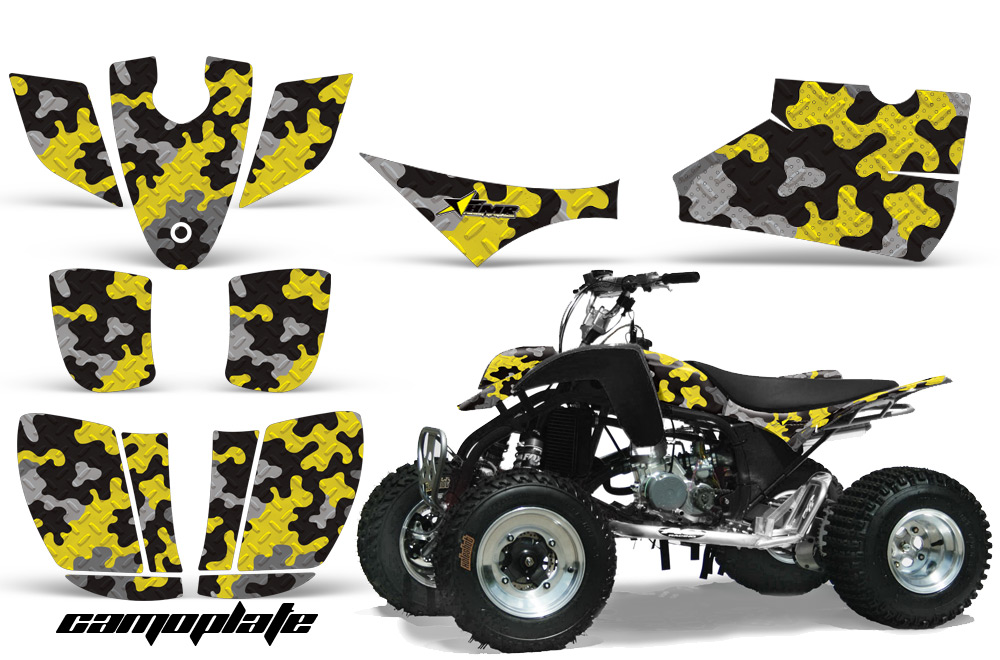 Cobra Ecx 507080 Atv Quad Graphic Kit Over 40 Designs To Choose From 267 on suzuki golf cart