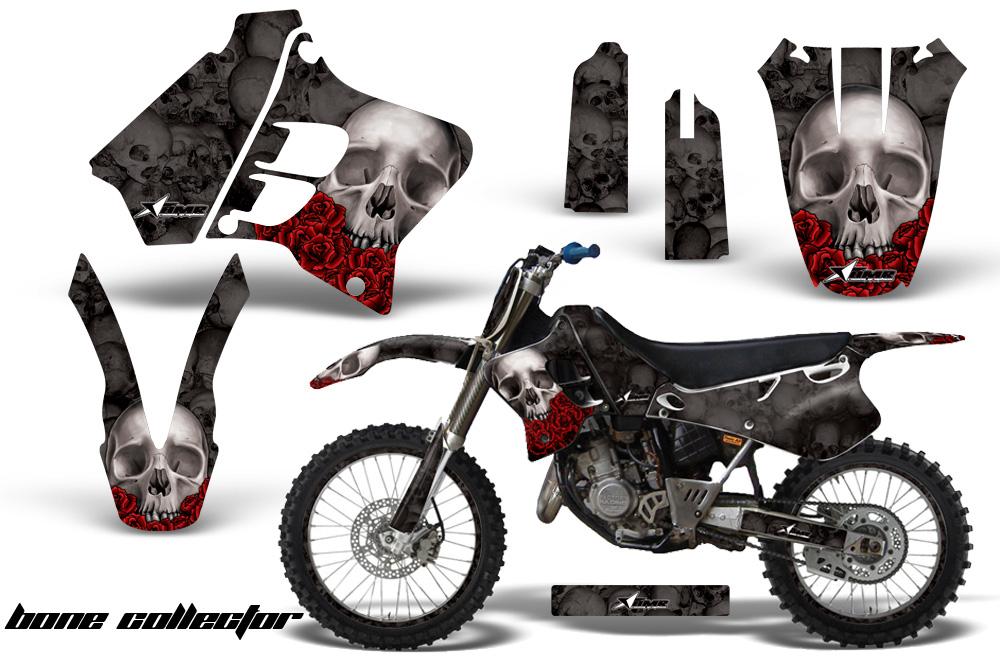 Yamaha Motocross Graphic Sticker Kit - Yamaha MX YZ250, YZ125 on modified golf carts, super golf carts, fast golf carts,