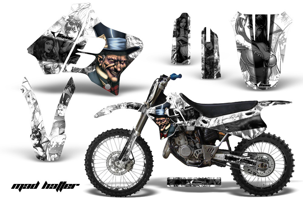 yamaha motocross graphic sticker kit