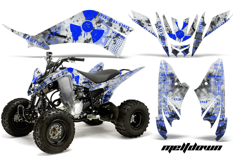 premium quality amr racing graphics for the yamaha raptor. Black Bedroom Furniture Sets. Home Design Ideas