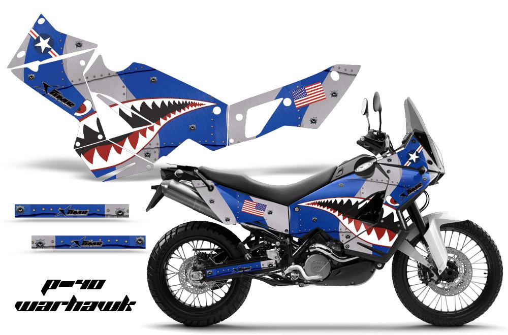 ktm adventurer 990 street bike graphic decal sticker kit ktm