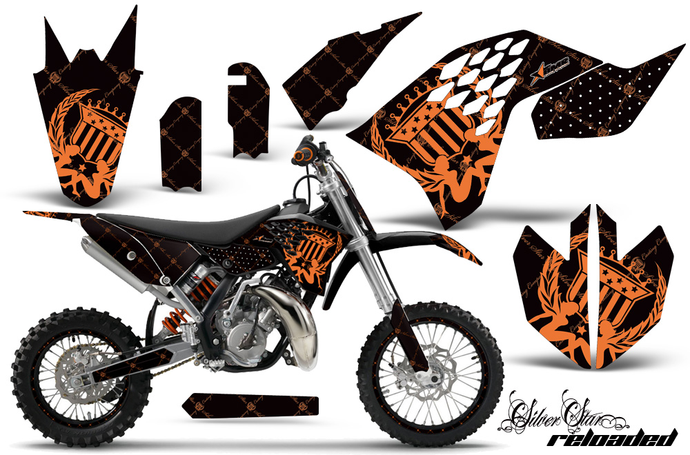 Ktm motocross graphic decal sticker kit ktm mx stickers for sx65 2009 2015