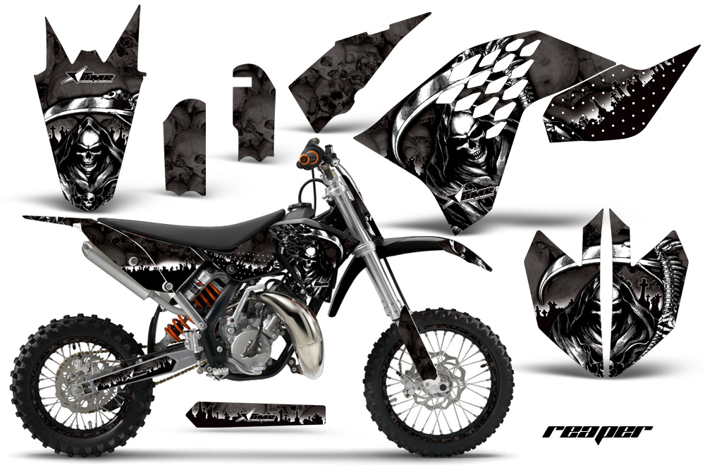 ktm motocross graphic decal sticker kit