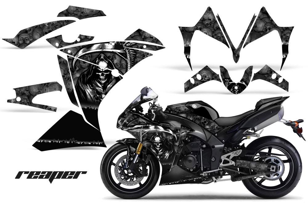 2010 2012 yamaha r1 street bike graphic decal sticker kit 10 11 12. Black Bedroom Furniture Sets. Home Design Ideas